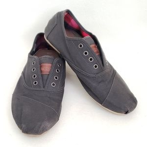 Corduroy Mens Toms with Plaid Lining